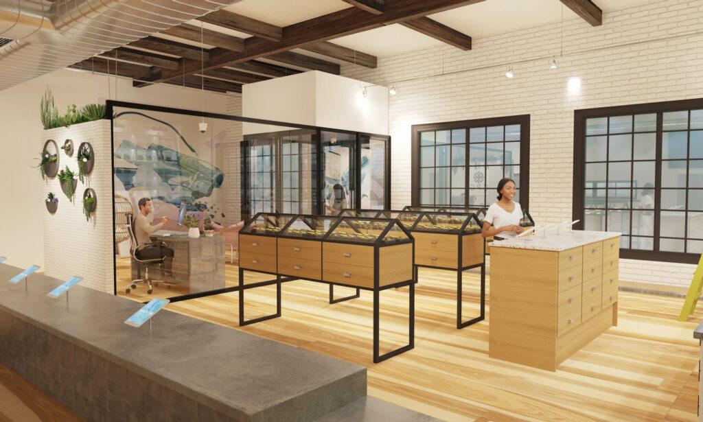Point7 Dispensary Design - Southern California Interior